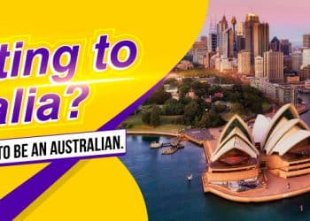 """migrating to Australia?"" landscape banner"